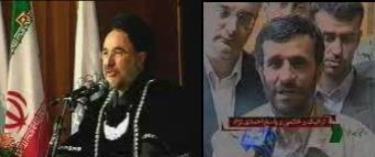 Khatami - AhmadiNejad